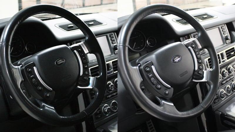 Качественная химчистка Range Rover Supercharged и история о том, как не надо её делать.