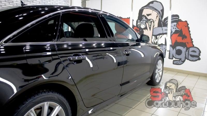 Комплексный подход к чистке и восстановлению ЛКП Audi A6. Чистка салона, обработка кузова и финишное покрытие керамикой