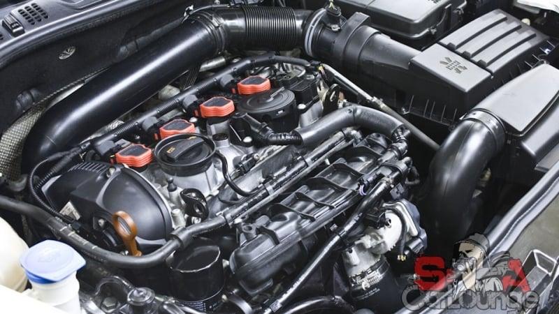 Безопасная чистка двигателя паром. Мойка подвески автомобиля Skoda Octavia RS с последующей консервацией