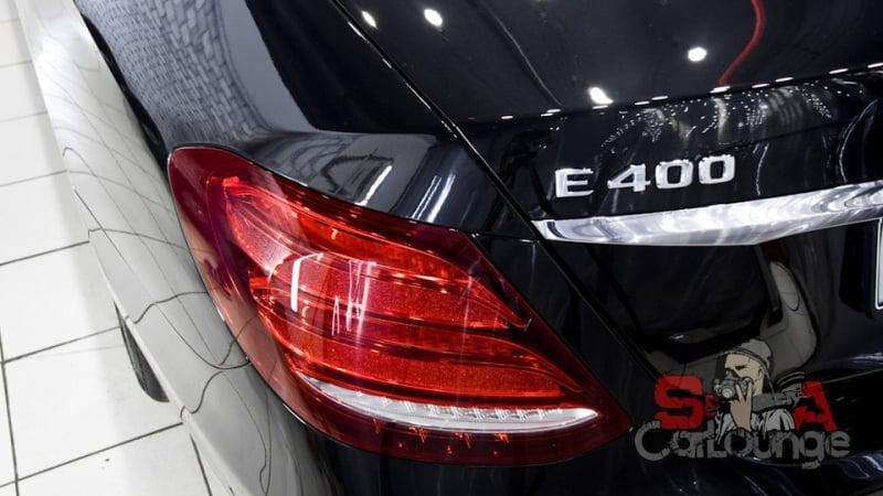 Комплекс работ с автомобилем Mercedes-Benz E-Klass W213 направленный на восстановление ЛКП. Последующее нанесение защиты керамикой