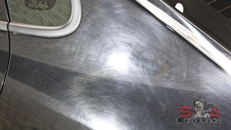 Восстановительные работы ЛКП автомобиля KIA Optima. Полировка кузова и боковых зеркал. Финальный проход финишной керамикой
