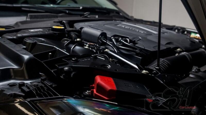 Видео по теме детейлинга подкапотного пространства и экстерьера автомобиля Jaguar F-TYPE S. Фото отчет по выполненной работе