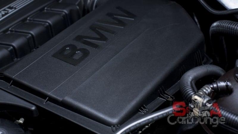 Мойка паром подкапотного пространства BMW X3. Детейлинг с использованием парогенератора и финальная консервация специальным составом
