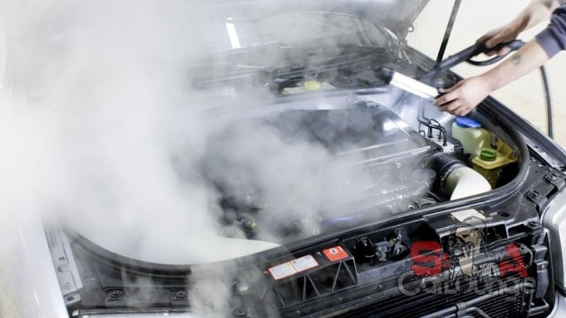 Детейлинг подкапотного пространства Audi RS6 V8 BiTurbo. Чистка теплоизоляции и короба воздушных фильтров