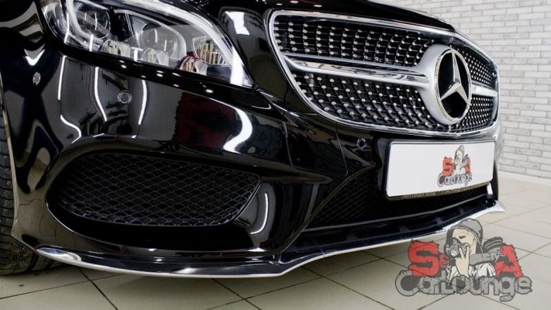 Многоэтапная полировка Mercedes-Benz CLS-Класс. Восстановительная полировка, керамическая защита кузова и защита фар полиуретаном