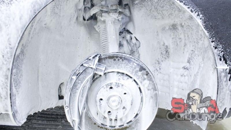 Химчистка пневмоподвески и дисков Audi A8 D4. Предварительная мойка, консервация и обратная сборка