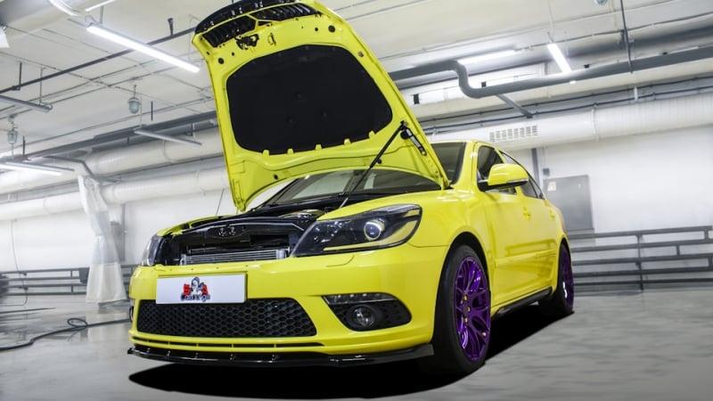 Химчистка интерьера автомобиля Skoda Octavia RS 2010 г. Индивидуальный подход к комбинированному салону с последующей консервацией результата
