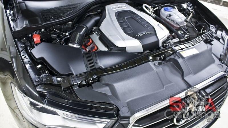 Безопасная мойка двигателя паром на примере Audi A6. Применение диэлектрического состава с дальнейшей консервацией результата
