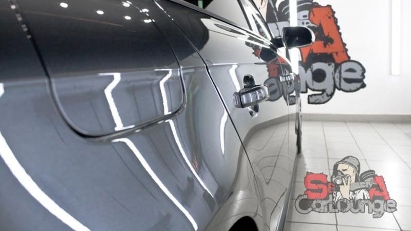 Комплексное обслуживание А4 stage 2. Полировка кузова в несколько этапов и финальная кварцевая защита