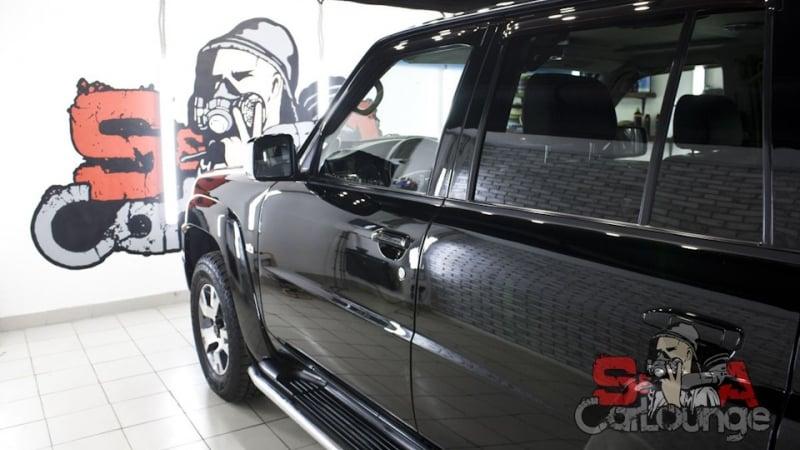 Детейлинг полировка и восстановление ЛКП Nissan Patrol с последующей защитой керамикой. Индивидуальный подход к каждой детали