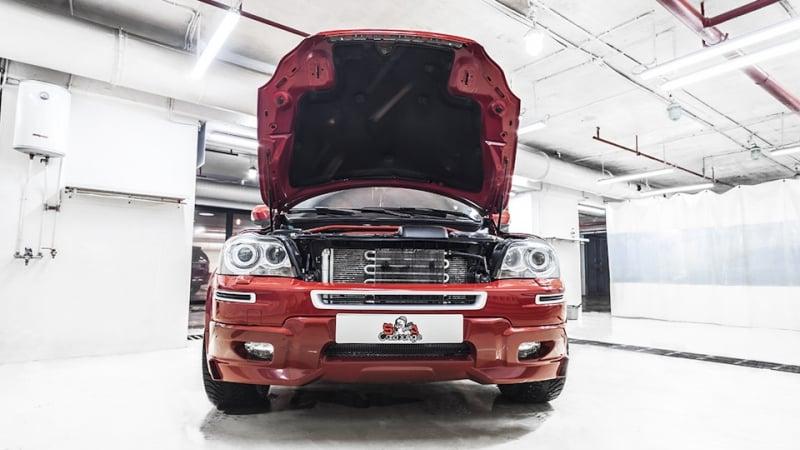Чистка автомобильного двигателя Volvo XC90 с V8 при помощи паровой установки. Полный разбор подкапотного пространства с дальнейшей детальной проработкой